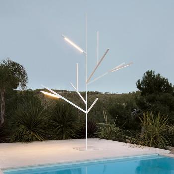 Blau Tree Floor Lamp