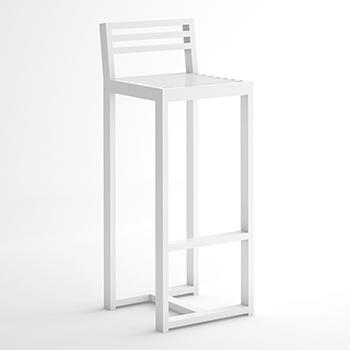 DNA Bar Stool with Backrest