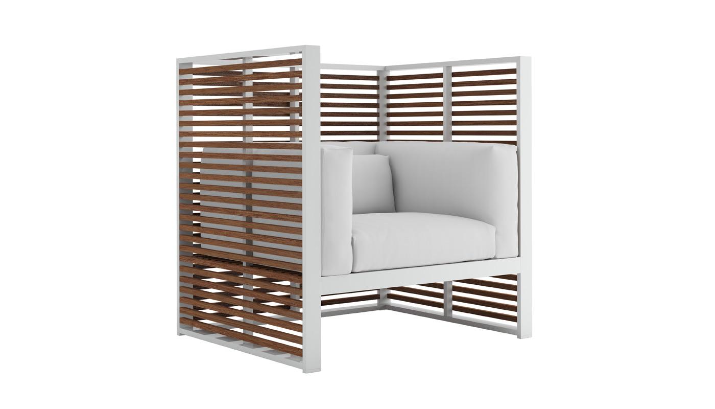 DNA Teak Normando Lounge Chair