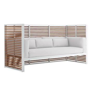 DNA Teak Normando Sofa