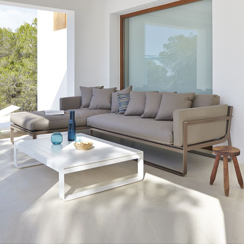 Flat Sectional Sofa - In Our Showroom