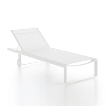 Flat Textil Chaise Longue
