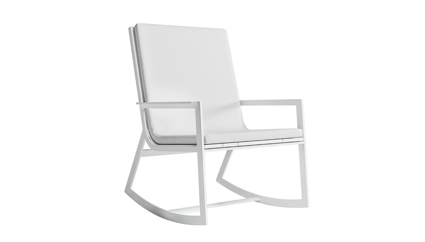 Flat Rocking Chair