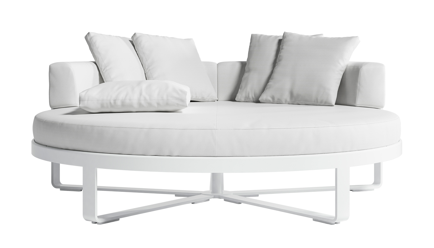 Flat Chill Daybed - Round