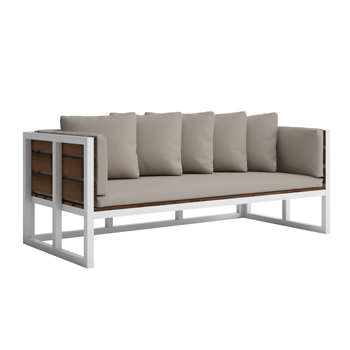 Saler Teak Sofa