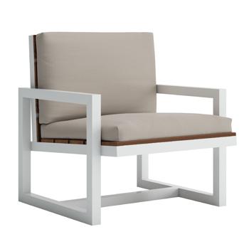 Saler Teak Lounge Chair