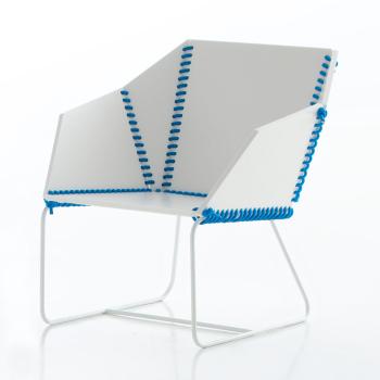 Textile Lounge Chair