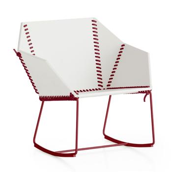 Textile Rocking Chair