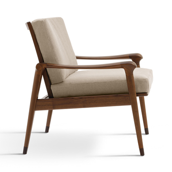 Denny Lounge Chair - Low Back