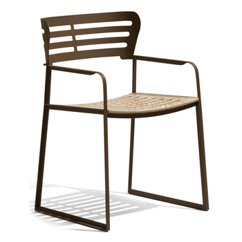 Gea Dining Chair with Arms