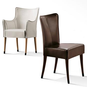 Giorgina Dining Chair - Saddle Leather