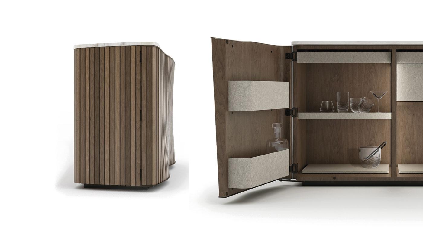 Kiri Bar Cabinet