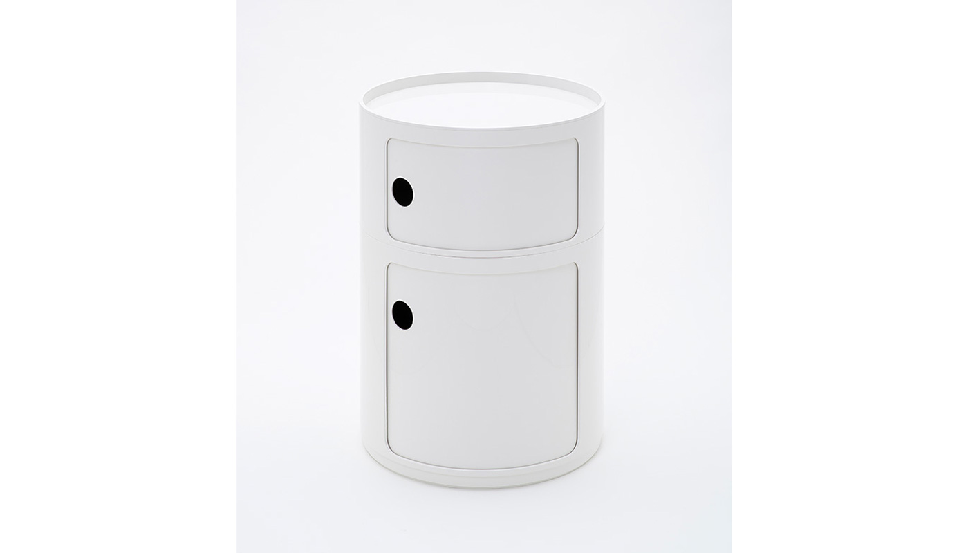 Componibili - Round Large Storage Cabinet