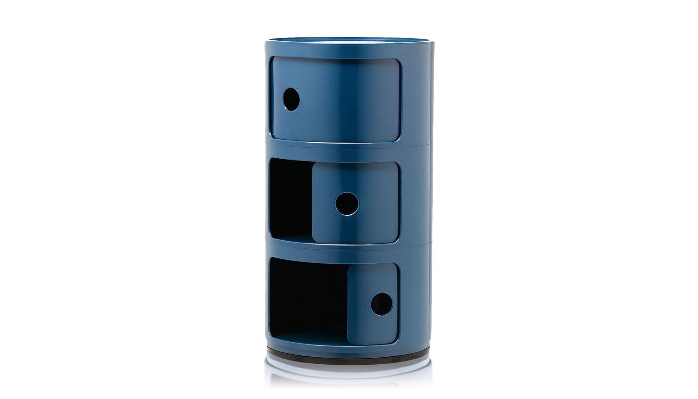 Componibili - Triple Storage Cabinet - Quickship
