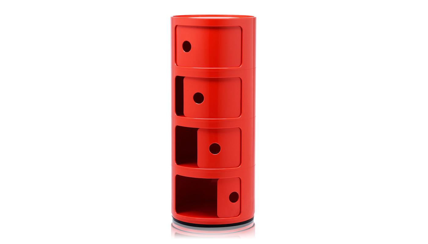 Componibili - Quadruple Storage Cabinet