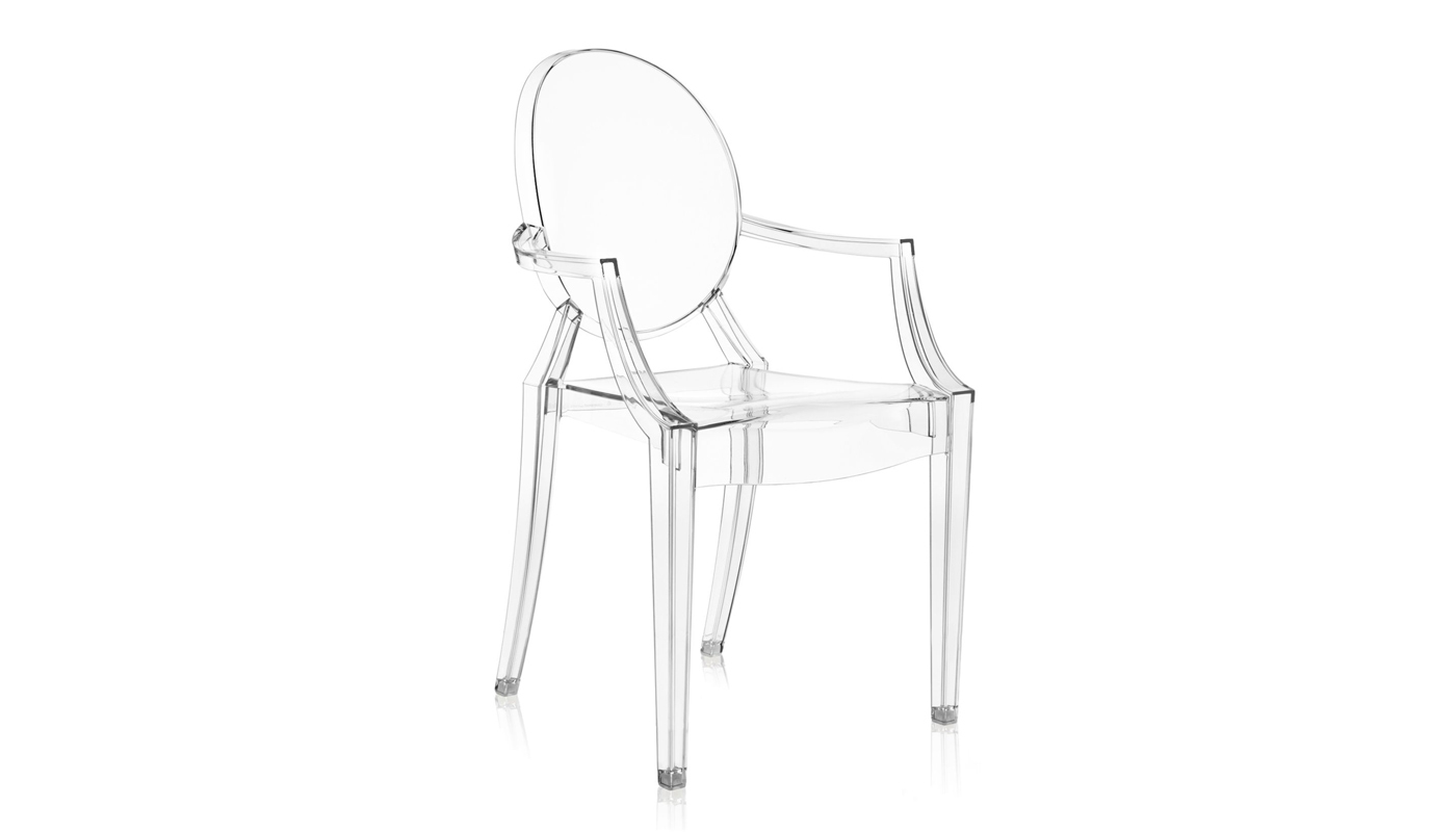 Louis Ghost Dining Chair - Set of 4 - Quickship