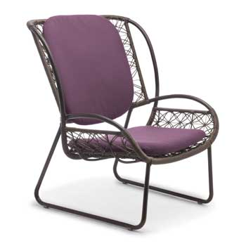 Adesso Outdoor Lounge Chair