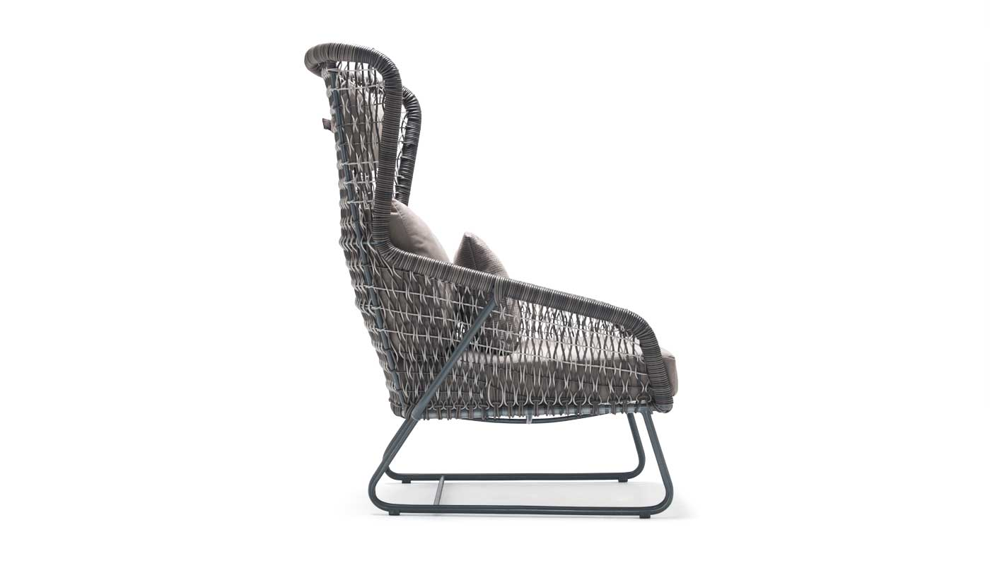 Isabella Outdoor Highback Lounge Chair By Kenneth Cobonpue Switch Modern