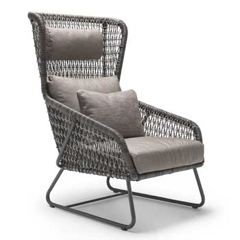 Isabella Highback Outdoor Lounge Chair