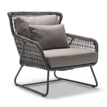Isabella Lowback Outdoor Lounge Chair
