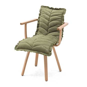 Leaf Dining Chair with Arms
