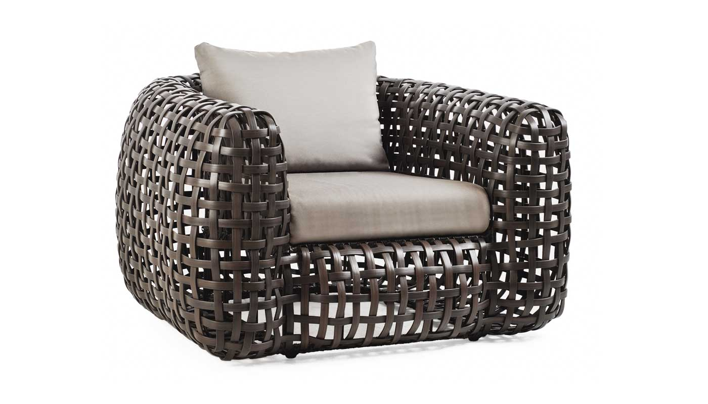 Matilda Lounge Chair with Arms