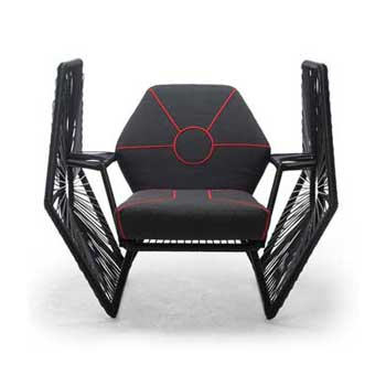 Imperial Tie Fighter Wings Lounge Chair
