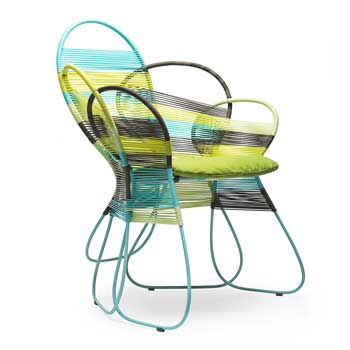 Trame Outdoor Dining Chair