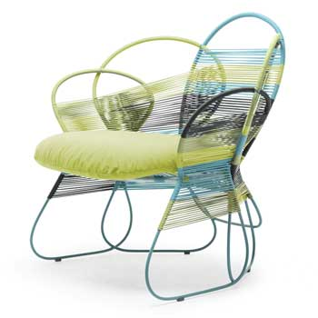 Trame Outdoor Lounge Chair