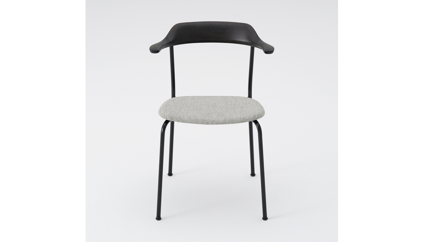 Hiroshima Dining Chair - Cushioned Seat