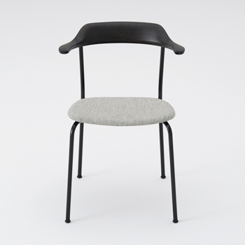 Hiroshima Dining Chair - Cushioned Seat