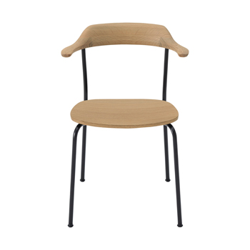Hiroshima Dining Chair - Wooden Seat