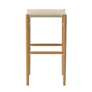 Lightwood Bar Stool - Cushioned Seat