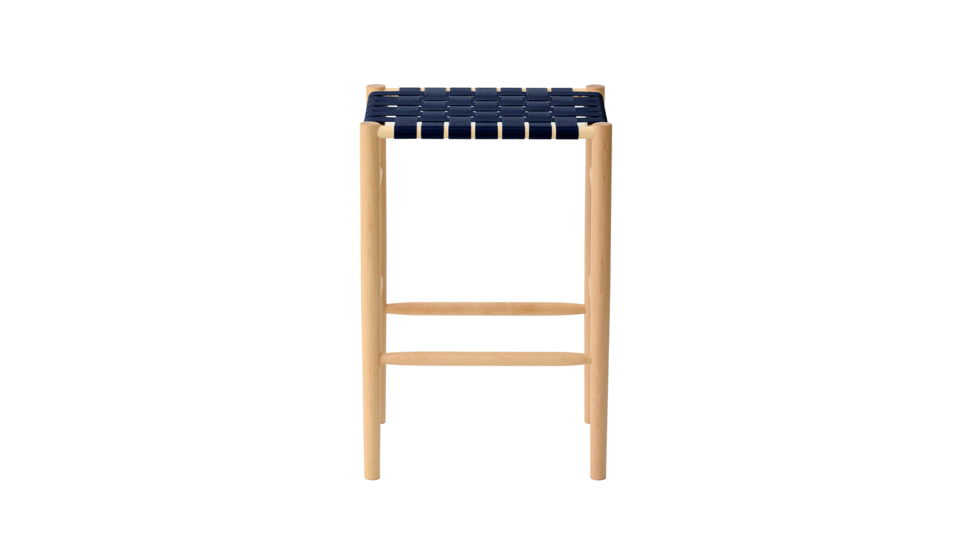Lightwood Counter Stool - Webbed Seat