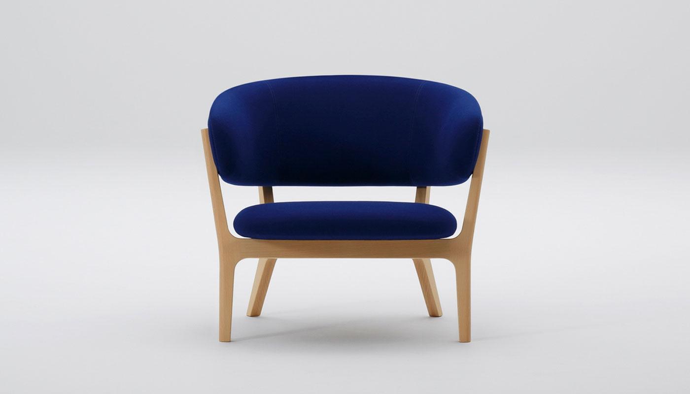 Roundish Lounge Chair