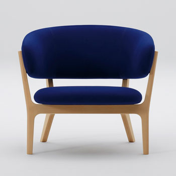 Roundish Lounge Chair