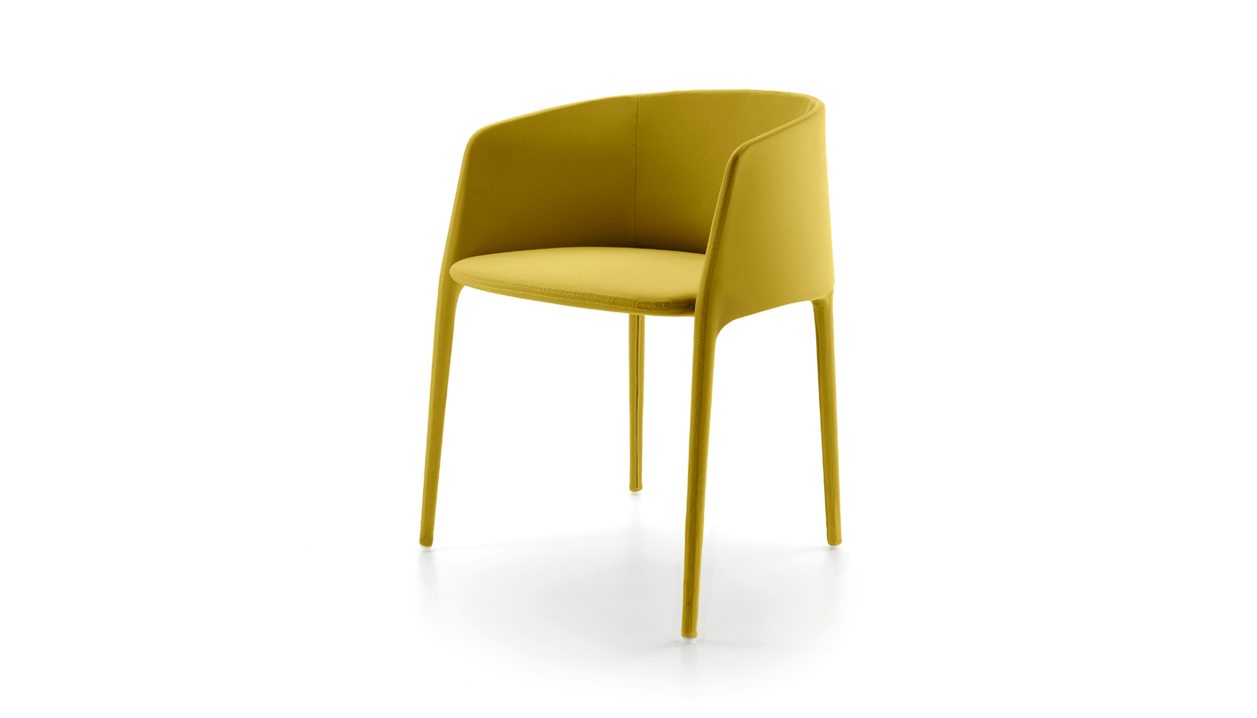 Achille Dining Chair with Arms
