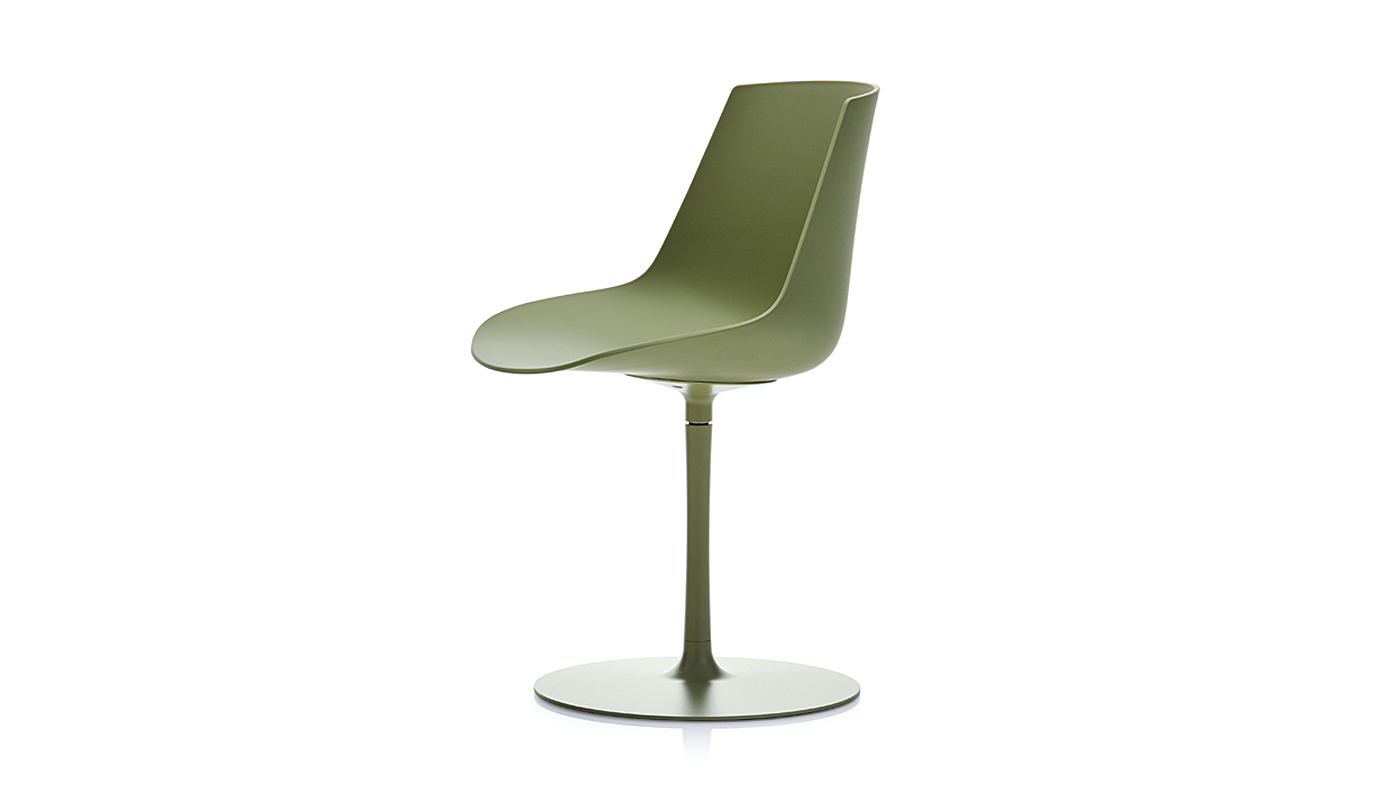 Flow Dining Chair - Central Leg