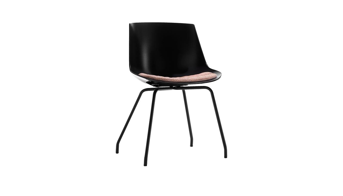 Flow Dining Chair - 4-Leg