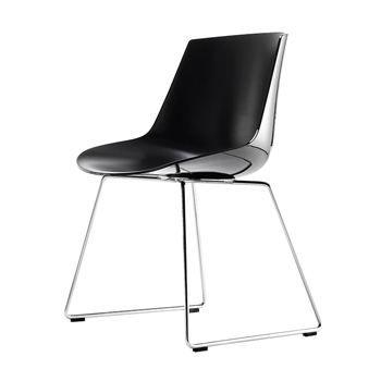 Flow Dining Chair - Sled Base