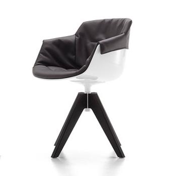 Flow Slim Dining Chair - VN 4-Leg Steel