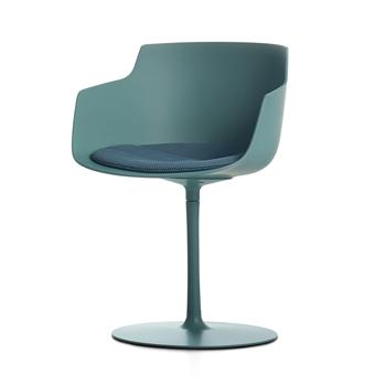 Flow Slim Dining Chair - Central Leg