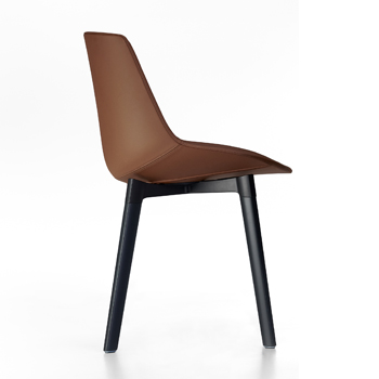 Flow Leather Dining Chair