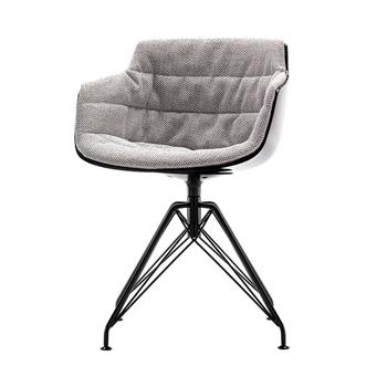 Flow Slim Dining Chair - LEM 4-Leg
