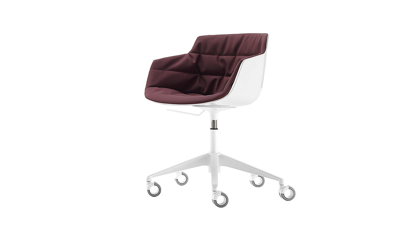 Flow Slim Desk Chair - 5-Point-Star