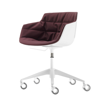 Flow Slim Desk Chair - 5-Point-Star
