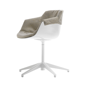 Flow Slim Dining Chair - 5-Point Base