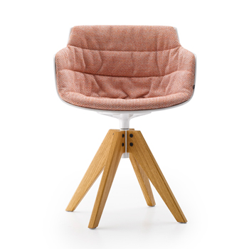 Flow Slim Dining Chair - VN 4-Leg Oak