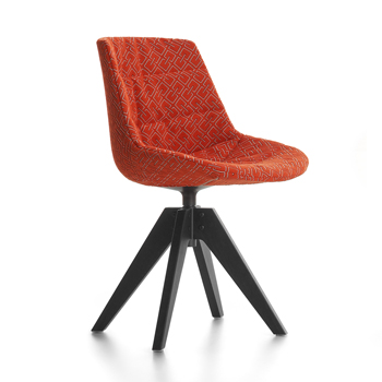 Flow Textile Dining Chair