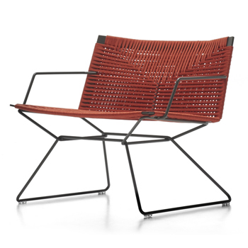 Neil Twist Outdoor Lounge Chair - with Arms